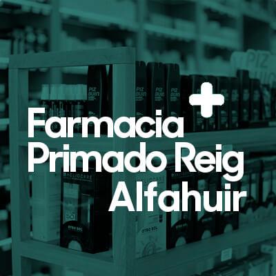 Farmacias en Valencia, Farmacia Primado Reig Alfahuir