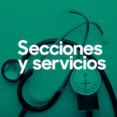 Farmacia en Valencia, Secciones y Servicios